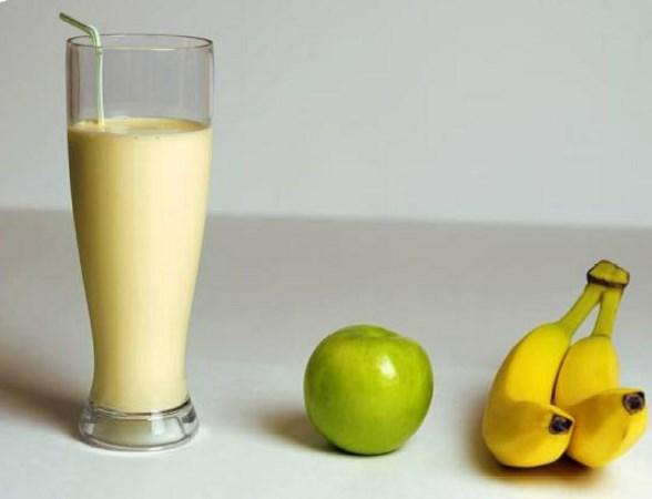 Banana & Apple Smoothie